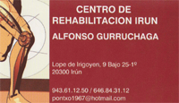 Alfonso Gurruchaga - Quiropráctico